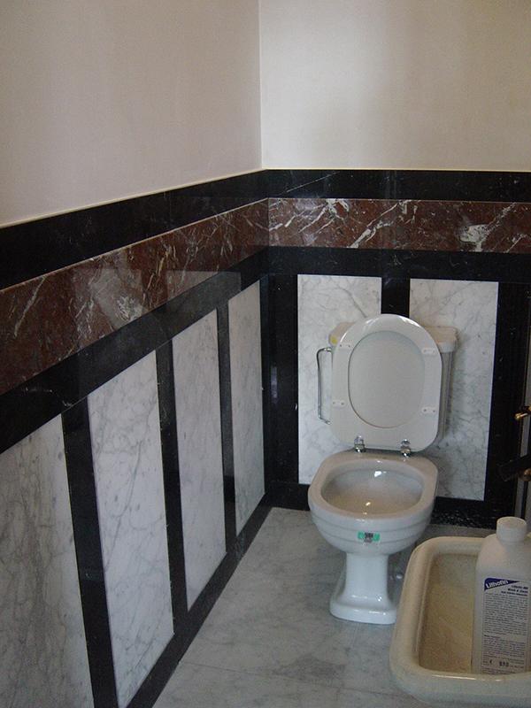 Badkamer en toilet binnenmaas natuursteenbinnenmaas natuursteen - Wandbekleding voor wc ...
